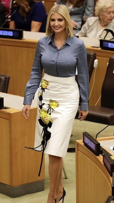 Ivanka Trump flashes her nipples at UNGA, grabs world-wide attention lindaikejisblog 1