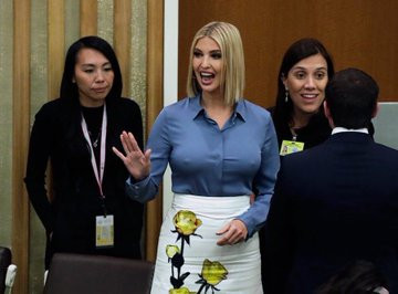 Ivanka Trump flashes her nipples at UNGA, grabs world-wide attention lindaikejisblog 2