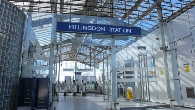 Man stabbed to death in front of commuters at London underground train station lindaikejisblog  1