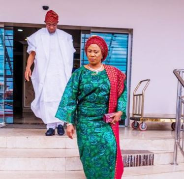 'I'm a blessed man because I have you in my life' - Rauf Aregbesola celebrates wife's birthday with sweet words