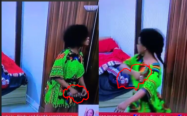 Moment Tacha began spraying perfume on herself after being told she has body odour during face-off with Mercy lindaikejisblog