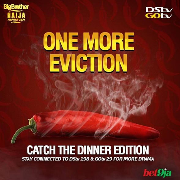 #BBNaija: After Cindy's exit, organisers say there'll be 'One More Eviction' tonight
