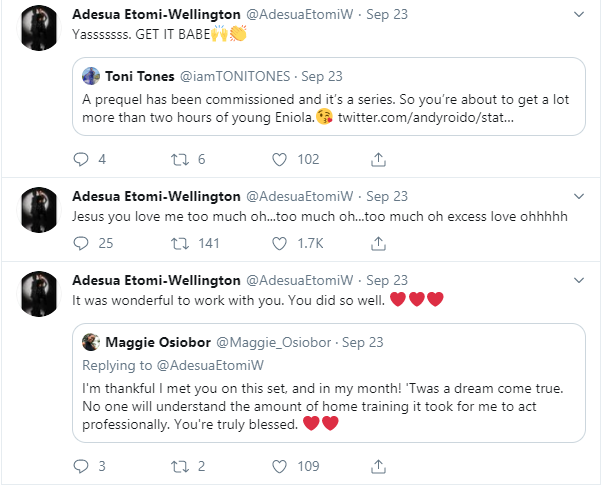 Adesua Etomi 'deletes' her Instagram page lindaikejisblog 1