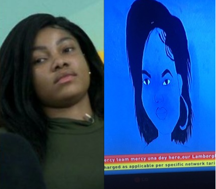 Tacha 'spiritually disqualified' herself the moment she angrily erased her photo from the top 10 housemates Omashola drew - Nigerians Tweet