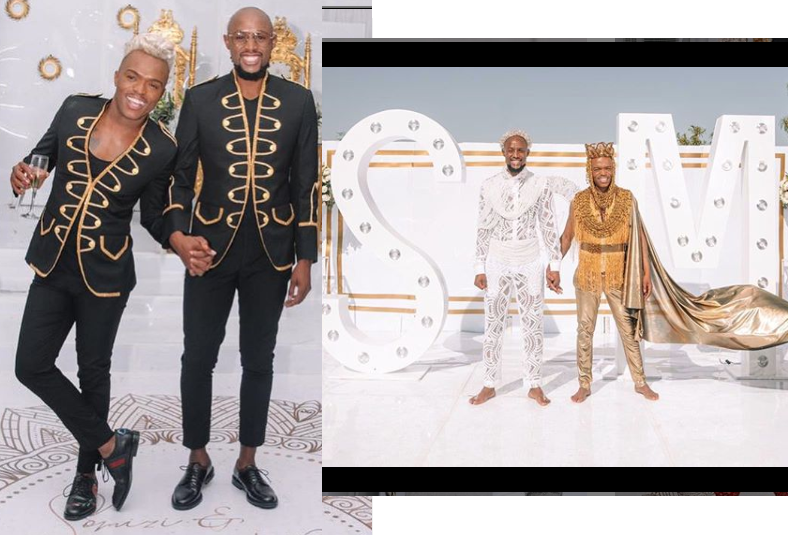 South African gay media personality, Somizi shares more photos from his traditional wedding