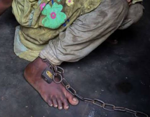 Father who chained daughter and son for twoyears dies in NAPTIP custody