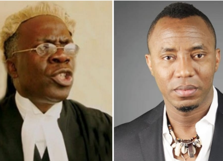 Sowore: Why SSS cannot report Justice Taiwo to NJC  Femi Falana explains