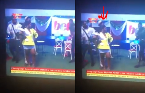 Moment Teddy A slapped Seyi for getting too close to BamBam during photos lindaikejisblog