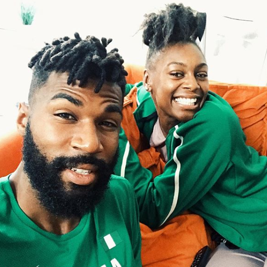 BBNaija: Mikes wife arrives Nigeria to support her husband ahead of the weekend finale