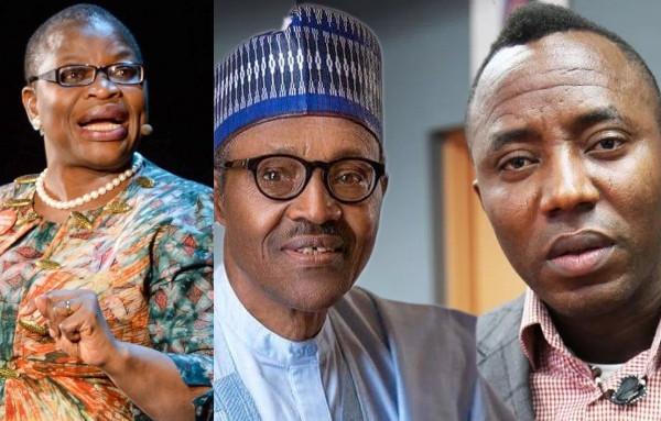 Oby Ezekwesili slams President Buhari over N100m bail to Omoyele Sowore lindaikejisblog