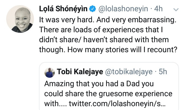 Writer Lola Shoneyin narrates how a Deputy Vice Chancellor who is her father's friend sexually assaulted her and how her father reacted