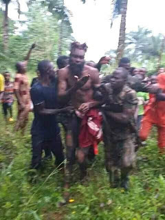 Notorious criminal Fear Not caught three days after he disarmed a soldier attached to Ebonyi State Governor