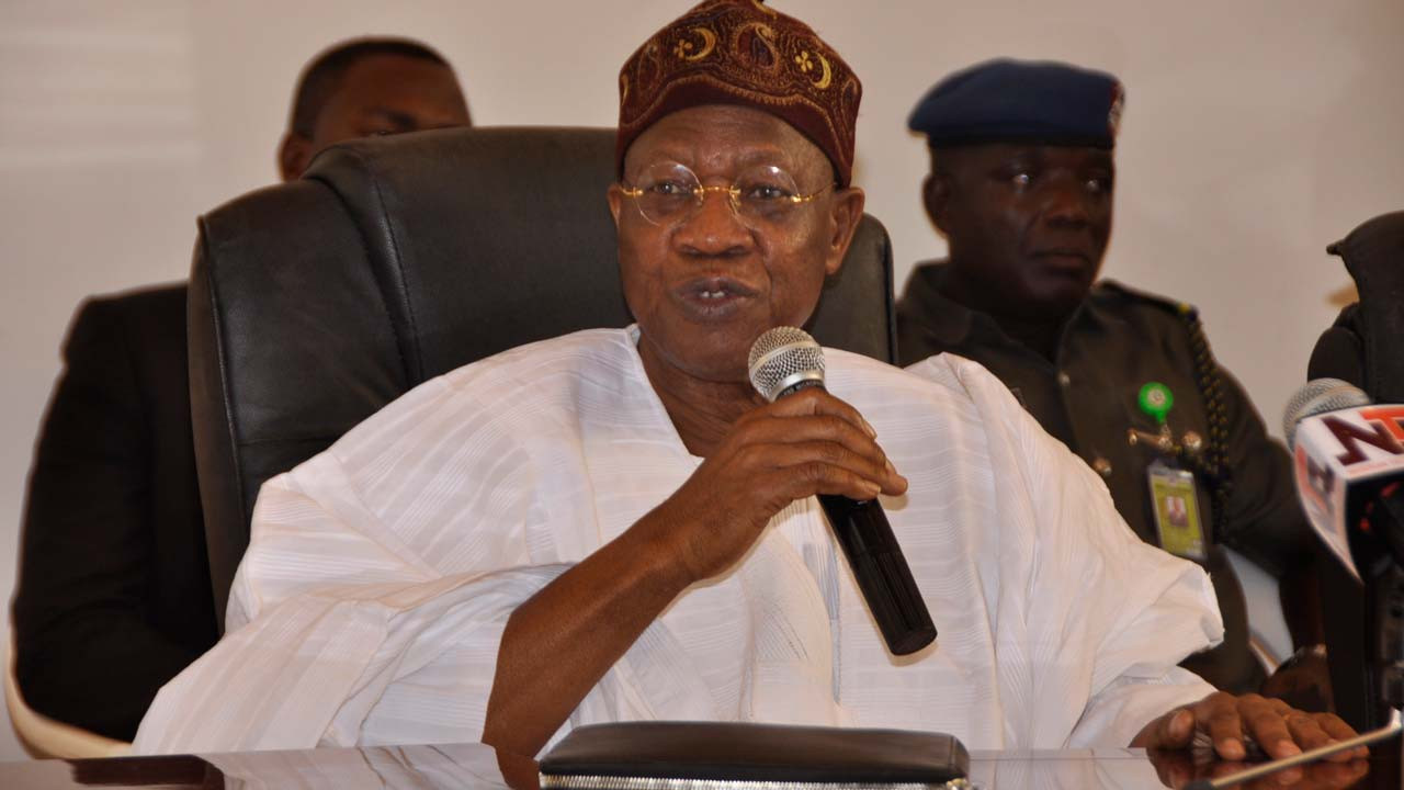 Online media will be regulated, hate speech fine to be increased from N500k to N5m - Lai Mohammed