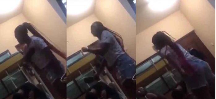 Student beats her boyfriend with slipper for cheating on her lindaikejisblog