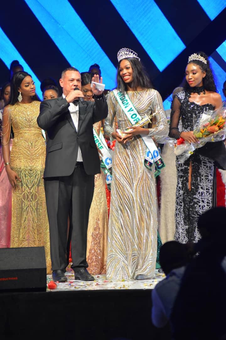 Miss Rivers, Nyekachi Douglas crowned Most Beautiful Girl in Nigeria in 2019 (Photos)