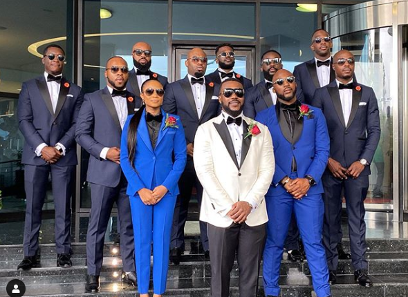 Photos and videos from the wedding ceremony of billionaire, Sir Emeka Offor's daughter lindaikejisblog 1