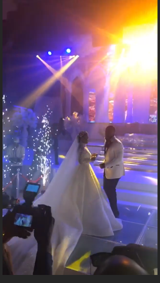 Photos and videos from the wedding ceremony of billionaire, Sir Emeka Offor's daughter lindaikejisblog 3