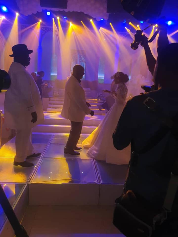 Photos and videos from the wedding ceremony of billionaire, Sir Emeka Offor's daughter lindaikejisblog 4