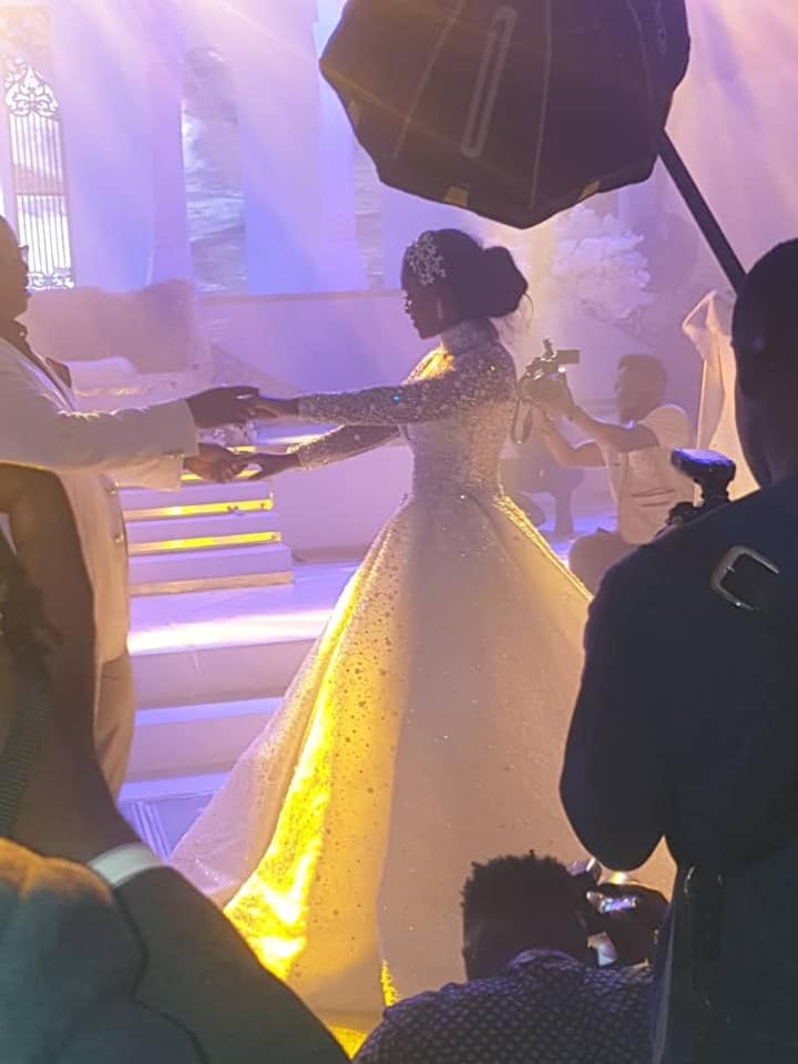 Photos and videos from the wedding ceremony of billionaire, Sir Emeka Offor's daughter lindaikejisblog 5