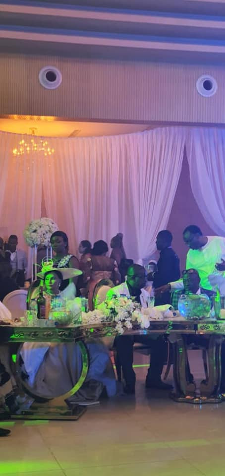 Photos and videos from the wedding ceremony of billionaire, Sir Emeka Offor's daughter lindaikejisblog 6