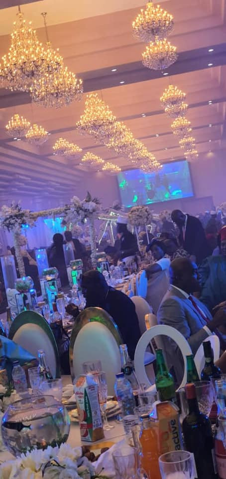 Photos and videos from the wedding ceremony of billionaire, Sir Emeka Offor's daughter lindaikejisblog 7