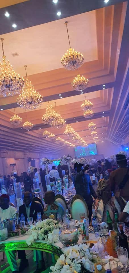 Photos and videos from the wedding ceremony of billionaire, Sir Emeka Offor's daughter lindaikejisblog 9