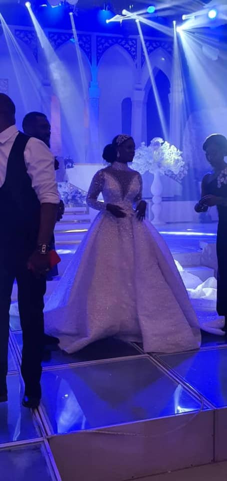 Photos and videos from the wedding ceremony of billionaire, Sir Emeka Offor's daughter lindaikejisblog 14