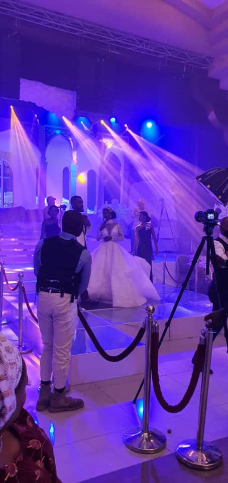 Photos and videos from the wedding ceremony of billionaire, Sir Emeka Offor's daughter lindaikejisblog 15