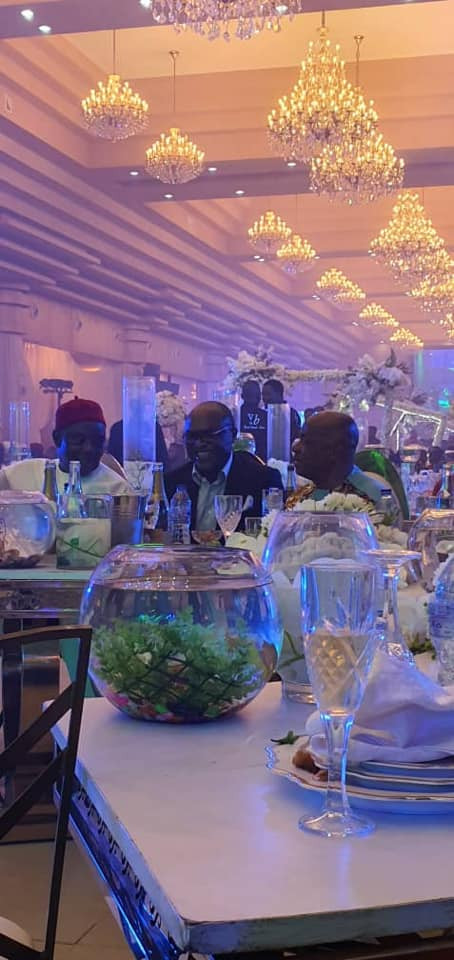 Photos and videos from the wedding ceremony of billionaire, Sir Emeka Offor's daughter lindaikejisblog 16