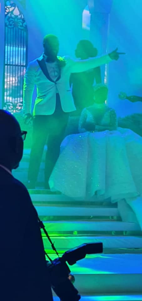 Photos and videos from the wedding ceremony of billionaire, Sir Emeka Offor's daughter lindaikejisblog 17