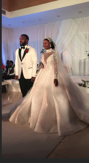 Photos and videos from the wedding ceremony of billionaire, Sir Emeka Offor's daughter lindaikejisblog