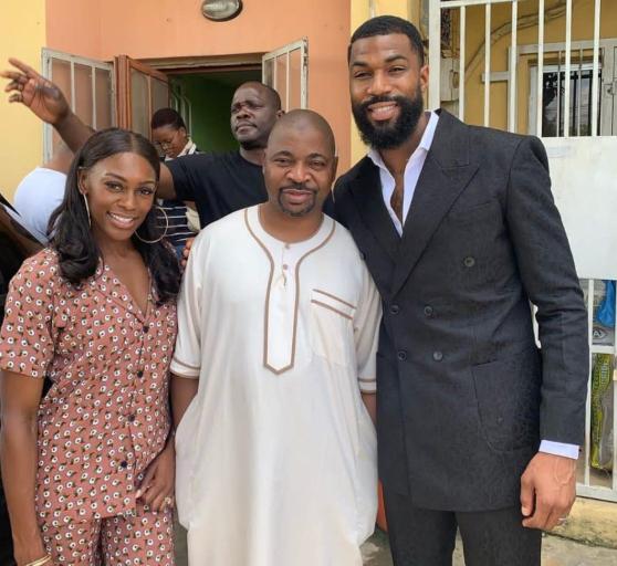 Ex-BBNaija housemate, Mike finally meets MC Oluomo in Lagos (Photos)