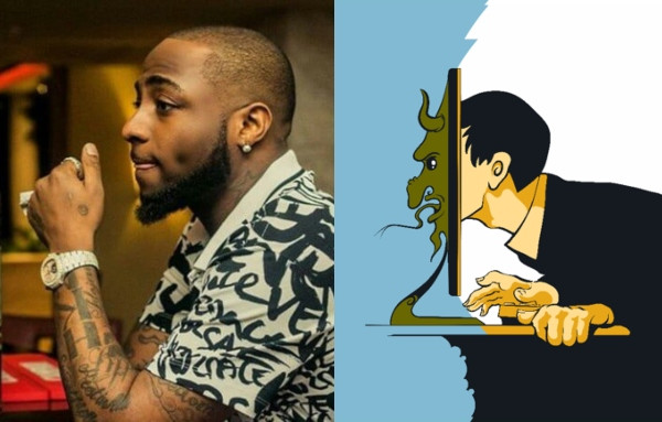 Between Davido and a troll who made his voice a problem lindaikejisblog