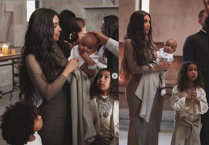Kim Kardashian shares more photos from baptism in Armenia