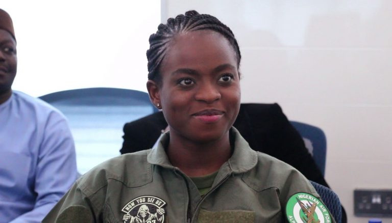 Nigerian Air Force decorates first female combat pilot and first female helicopter pilot lindaikejisblog