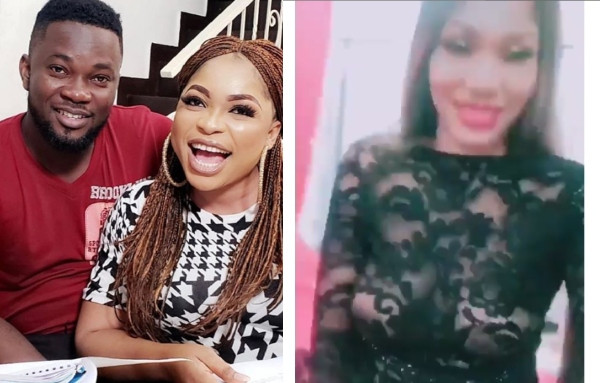 Actress Kemi Afolabi allegedly fights with another lady over Actor Gida lindaikejisblog