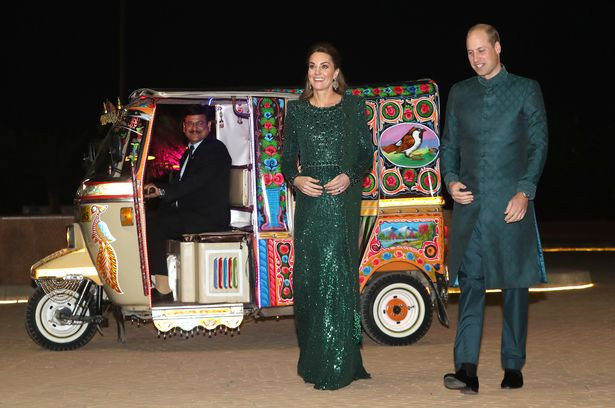 Kate Middleton dazzles in 3500 dress as she joins Prince William on Pakistan visit