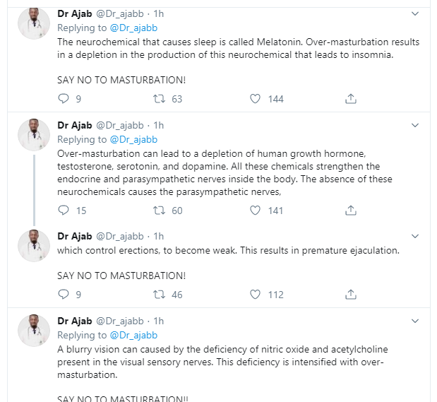 Nigerian Doctor reveals why masturbation is injurious to the health of men and women lindaikejisblog 6