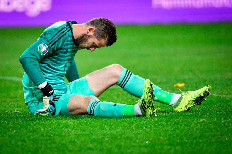 Huge blow for Manchester United as David De Gea is injured on international duty ahead of Liverpool clash