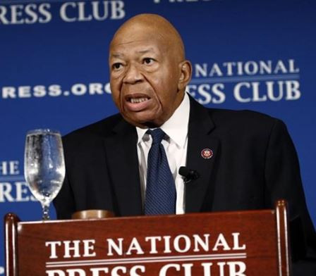 Long-serving US congressman,Elijah Cummings is dead