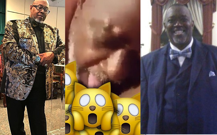 I eat pu**y & my skills are much better, he was eating too fast from bottom to top - 'Cussing' Pastor Thaddeus Matthews reacts to Pastor Wilson's sex tape leak