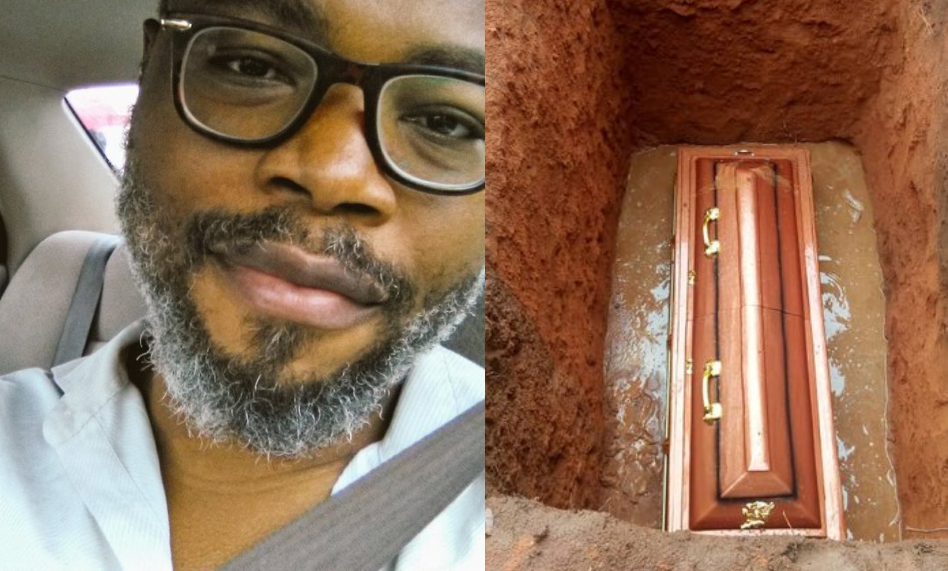 Photos from the burial ceremony of social commentator, Stanley Nwabia lindaikejisblog