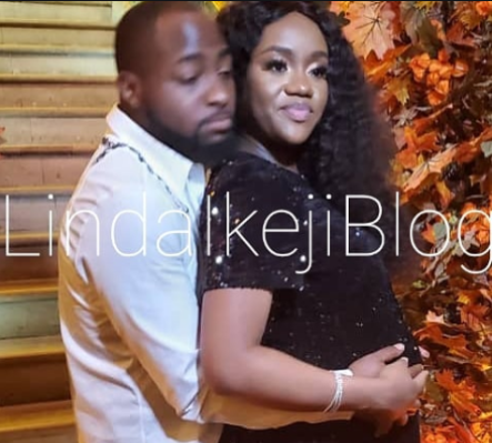 Davido confirms he's in thedelivery room, as Chioma falls into labour