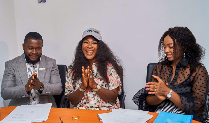 Mercy Johnson Becomes Pennek's Brand Ambassador