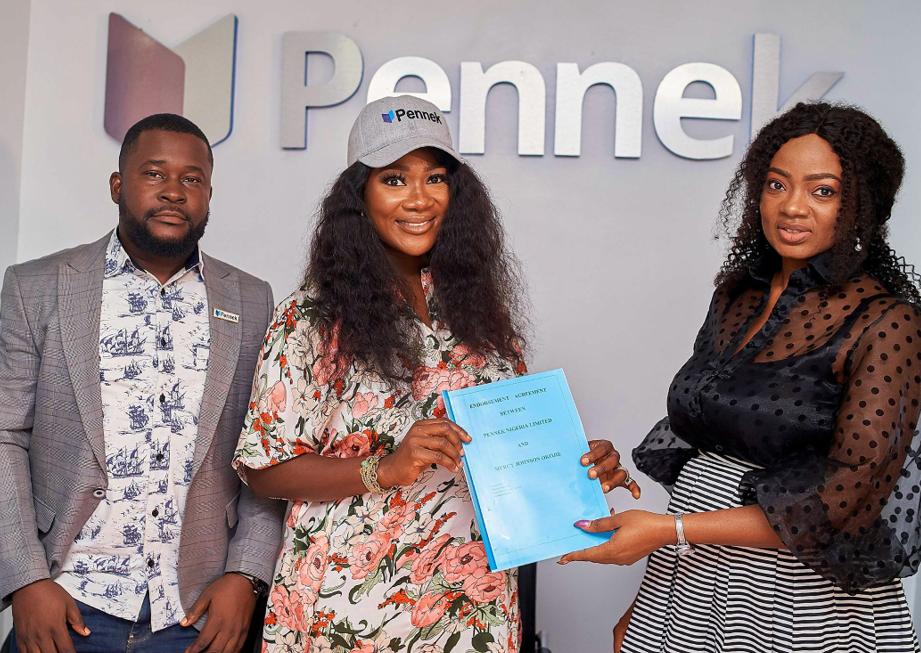 Mercy Johnson Becomes Pennek Brand Ambassador