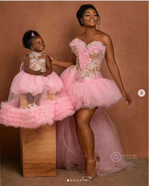 Super Eagles midfielder Ogenyi Onazi and wife Sandra celebrate their daughter's first birthday with beautiful photos