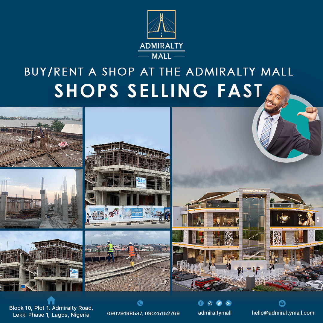 Buy Rent A Shop At The Admiralty Mall Shops Are Selling Fast