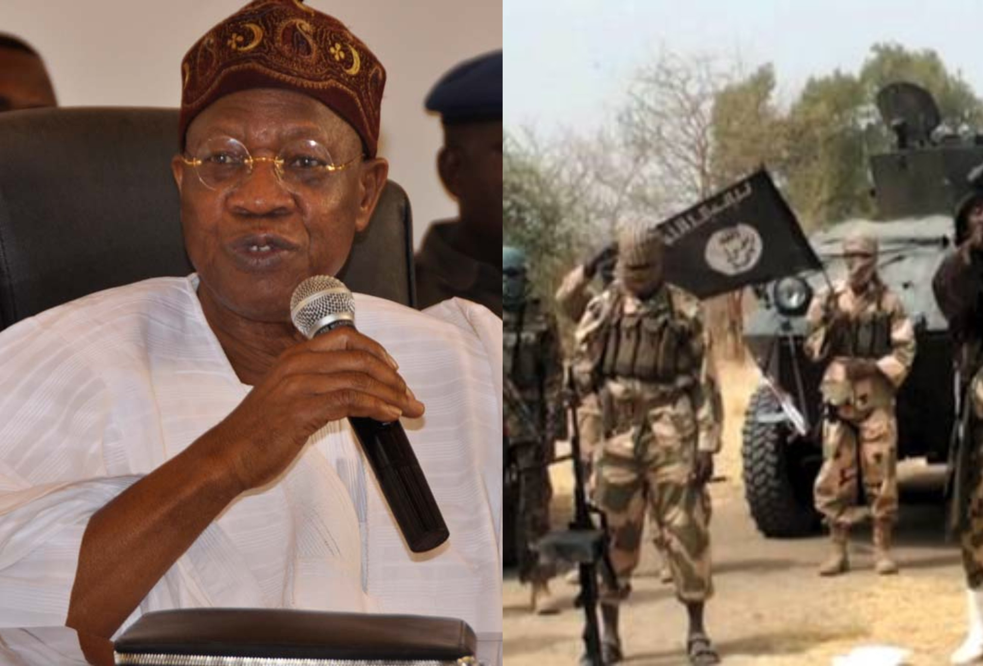 I stand by my words, Boko Haram has been technically defeated - Lai Mohammed lindaikejisblog