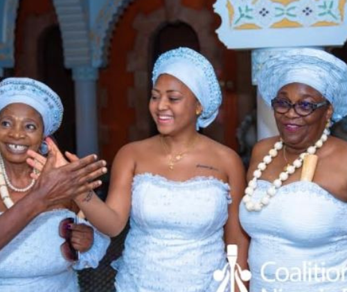 Why I was initiated into Aniocha womens cultwhen I got married to Ned Nwoko  Regina Daniels opens up