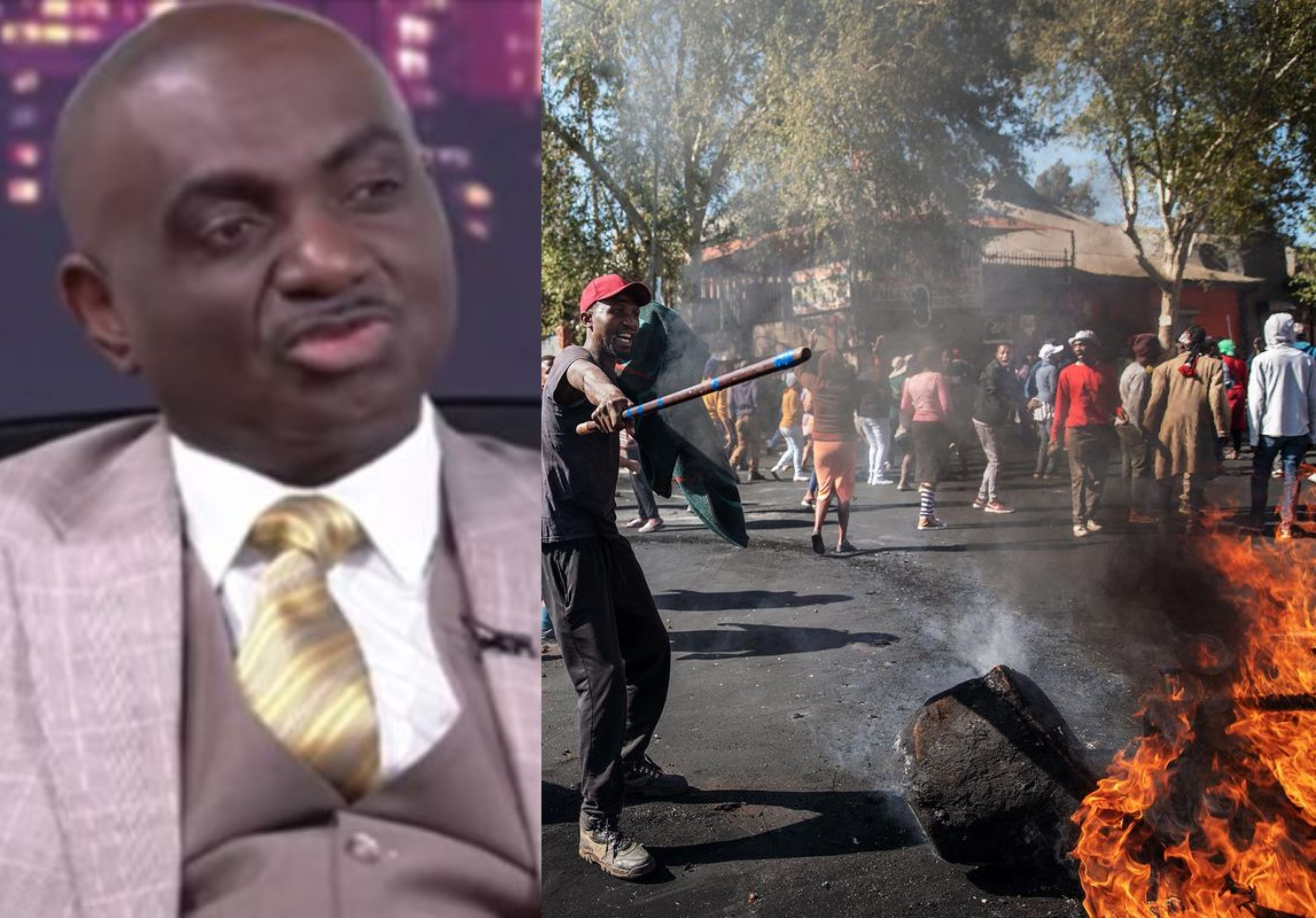 Attacks on Nigerian businesses in South Africa criminal, not xenophobic - Nigerian Consul General, Godwin Adama lindaikejisblog